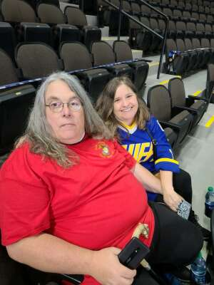 Mike Barron attended Jacksonville Icemen vs. South Carolina Stingrays - ECHL on Apr 18th 2021 via VetTix