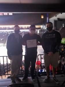 Ray attended Jacksonville Icemen vs. South Carolina Stingrays - ECHL on Apr 18th 2021 via VetTix