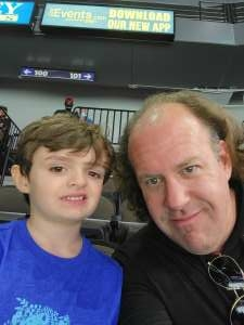 Noah attended Jacksonville Icemen vs. South Carolina Stingrays - ECHL on Apr 18th 2021 via VetTix