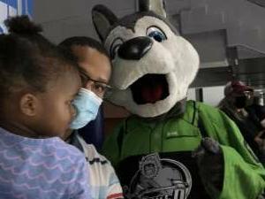 Nate  attended Jacksonville Icemen vs. South Carolina Stingrays - ECHL on Apr 18th 2021 via VetTix