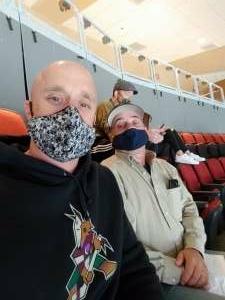 Nate attended Arizona Coyotes vs. Minnesota Wild on Apr 19th 2021 via VetTix