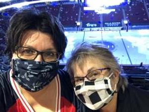 Tracy attended Arizona Coyotes vs. Minnesota Wild on Apr 19th 2021 via VetTix