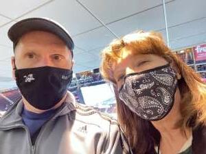 Steve attended Arizona Coyotes vs. Minnesota Wild on Apr 19th 2021 via VetTix