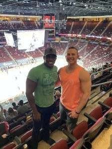 Chris  attended Arizona Coyotes vs. Minnesota Wild on Apr 21st 2021 via VetTix