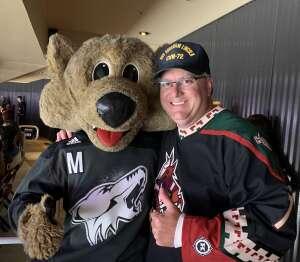 John C attended Arizona Coyotes vs. Minnesota Wild on Apr 21st 2021 via VetTix