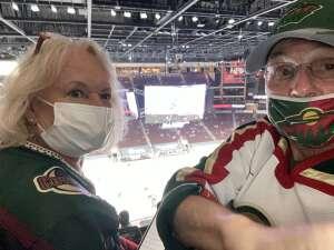 Jherne attended Arizona Coyotes vs. Minnesota Wild on Apr 21st 2021 via VetTix