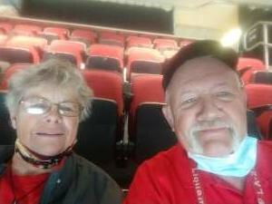 Bob Larson attended Arizona Coyotes vs. Minnesota Wild on Apr 21st 2021 via VetTix