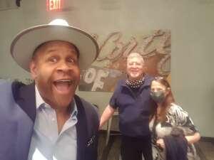 Virginia S. attended Delirious Comedy Club on Apr 24th 2021 via VetTix