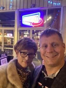 Nate attended Vicki Barbolak on Apr 16th 2021 via VetTix