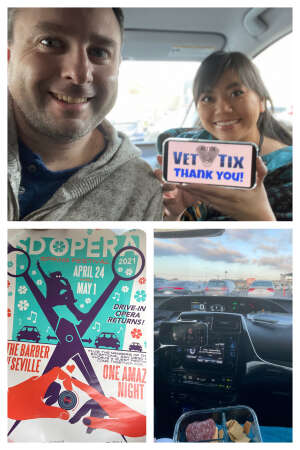 Tony attended One Amazing Night - Drive in on Apr 24th 2021 via VetTix