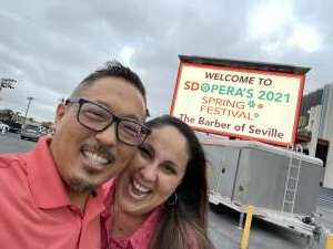 Mo  attended Barber of Seville - Drive-in on May 1st 2021 via VetTix