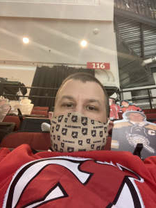 Todd Stawicki attended New Jersey Devils vs. Philadelphia Flyers - NHL on Apr 27th 2021 via VetTix