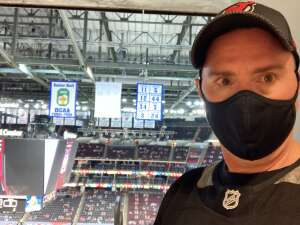 Stephen  attended New Jersey Devils vs. Philadelphia Flyers - NHL on Apr 27th 2021 via VetTix