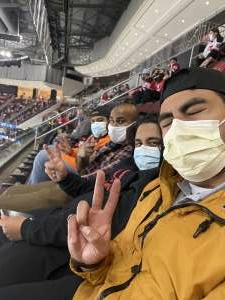 Johnny attended New Jersey Devils vs. Philadelphia Flyers - NHL on Apr 27th 2021 via VetTix