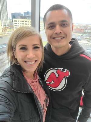 Will Calderon  attended New Jersey Devils vs. Philadelphia Flyers - NHL on Apr 27th 2021 via VetTix