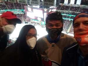 Vince attended New Jersey Devils vs. Philadelphia Flyers - NHL on Apr 27th 2021 via VetTix