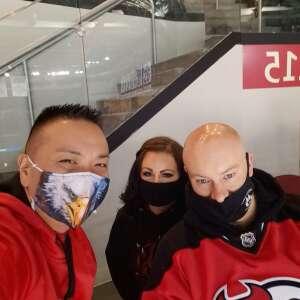 Lawrence  attended New Jersey Devils vs. Philadelphia Flyers - NHL on Apr 27th 2021 via VetTix
