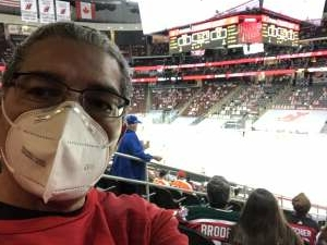 Ricardo  attended New Jersey Devils vs. Philadelphia Flyers - NHL on Apr 27th 2021 via VetTix