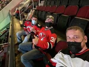 Dan attended New Jersey Devils vs. Philadelphia Flyers - NHL on Apr 27th 2021 via VetTix