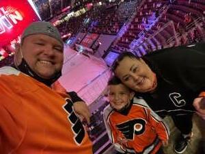 Chris N attended New Jersey Devils vs. Philadelphia Flyers - NHL on Apr 27th 2021 via VetTix