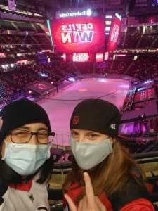 Jenn attended New Jersey Devils vs. Philadelphia Flyers - NHL on Apr 27th 2021 via VetTix