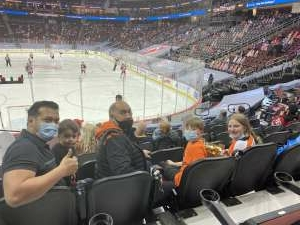 Pablo  attended New Jersey Devils vs. Philadelphia Flyers - NHL on Apr 27th 2021 via VetTix