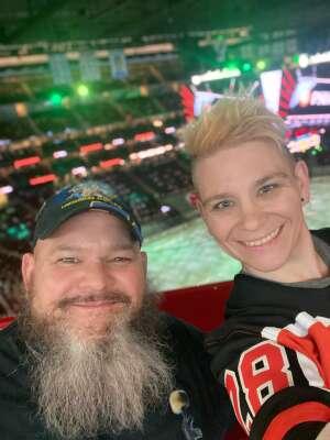 John attended New Jersey Devils vs. Philadelphia Flyers - NHL on Apr 27th 2021 via VetTix