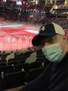 Danny C attended New Jersey Devils vs. Philadelphia Flyers - NHL on Apr 27th 2021 via VetTix
