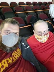 Bill attended Cleveland Cavaliers vs. Chicago Bulls - NBA on Apr 21st 2021 via VetTix