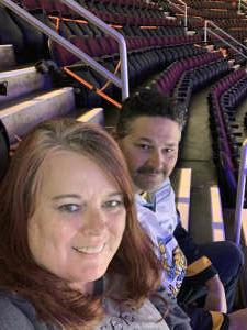 Lillie attended Cleveland Monsters vs. Chicago Wolves - AHL on Apr 24th 2021 via VetTix