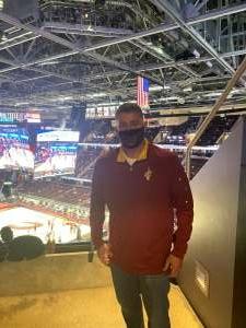 John attended Cleveland Cavaliers vs. Orlando Magic - NBA on Apr 28th 2021 via VetTix
