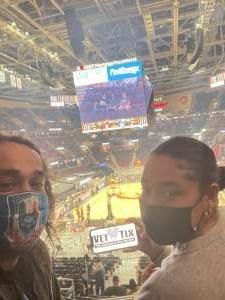 Isaacf724  attended Cleveland Cavaliers vs. Orlando Magic - NBA on Apr 28th 2021 via VetTix