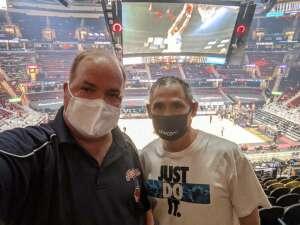 Bob, US Navy attended Cleveland Cavaliers vs. Orlando Magic - NBA on Apr 28th 2021 via VetTix