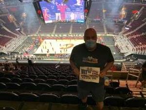 Dan attended Cleveland Cavaliers vs. Orlando Magic - NBA on Apr 28th 2021 via VetTix