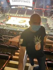 Nathan Humes attended Cleveland Cavaliers vs. Orlando Magic - NBA on Apr 28th 2021 via VetTix