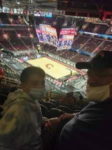 Chris Balsley  attended Cleveland Cavaliers vs. Orlando Magic - NBA on Apr 28th 2021 via VetTix