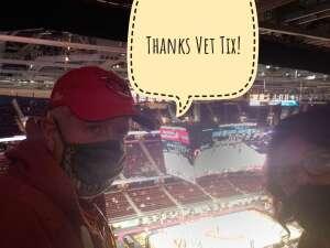 Bill Franklin attended Cleveland Cavaliers vs. Orlando Magic - NBA on Apr 28th 2021 via VetTix