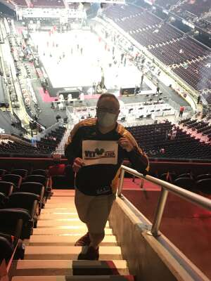 Donald Mascola attended Cleveland Cavaliers vs. Orlando Magic - NBA on Apr 28th 2021 via VetTix