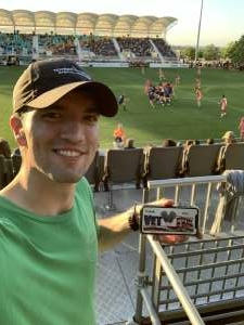 Kevin attended Austin Gilgronis vs. Rugby United New York - Major League Rugby on May 15th 2021 via VetTix