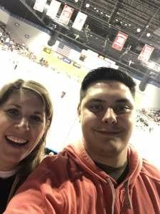 Ken R. attended Rapid City Rush vs. Kansas City Mavericks - ECHL on May 1st 2021 via VetTix