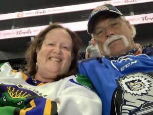 Jim attended Jacksonville Icemen vs. Greenville Swamp Rabbits - ECHL on May 5th 2021 via VetTix