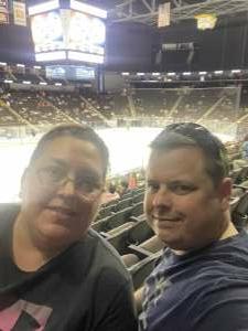 Shane Garner attended Jacksonville Icemen vs. Greenville Swamp Rabbits - ECHL on May 5th 2021 via VetTix