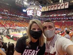 Luis attended Heat vs. San Antonio Spurs on Apr 28th 2021 via VetTix