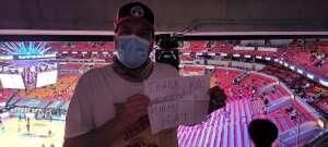 Daishiki attended Heat vs. San Antonio Spurs on Apr 28th 2021 via VetTix