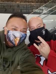 Lawrence  attended New Jersey Devils vs. Philadelphia Flyers - NHL on Apr 29th 2021 via VetTix