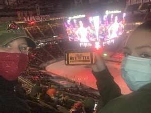 Megan R. attended New Jersey Devils vs. Philadelphia Flyers - NHL on Apr 29th 2021 via VetTix