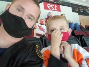 Michael and Jacob  attended New Jersey Devils vs. Philadelphia Flyers - NHL on Apr 29th 2021 via VetTix