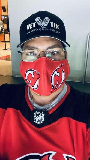 Marcos attended New Jersey Devils vs. Philadelphia Flyers - NHL on Apr 29th 2021 via VetTix