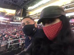 David  attended Arizona Coyotes vs. Vegas Golden Knights - NHL on Apr 30th 2021 via VetTix