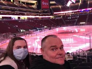 Wayne attended Arizona Coyotes vs. Vegas Golden Knights - NHL on Apr 30th 2021 via VetTix